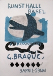 Poster: Braque, Georges - 1960 - Kunsthalle Basel