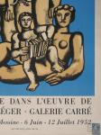 Léger, Fernand - 1952 - Galerie Carré (La figure dans loeuvre de Fernand Léger)