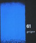 Geiger, Rupprecht - 1961 - Galerie Otto Stangl München