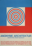 Plakat: Minks, Wilfried - 1968 - Anonyme Architektur