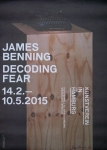 Benning, James - 2015 - Kunstverein Hamburg