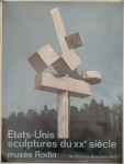 Plakat: Smith, David - 1965 - Etats-Unis sculptures du XXe siécle