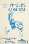 Regnier, Michèle - 1984 - Printemps dArgentine