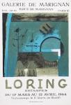 Loring, John - 1964 - Galerie de Marignan