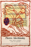 Plakat: Alechinsky, Pierre - 1988 - Galerie Marghescu Hannover