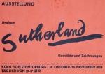 Sutherland, Graham - 1954 - Köln Eigelsteintorburg