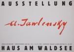 Jawlensky, Alexej von - 1958 - Berlin ( Haus am Waldsee )