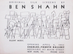 Shahn, Ben - 1953 -  Charles-Fourth Gallery New Hope