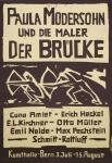 Willareth, Ernst -1948 - Kunsthalle Bern (Paula Modersohn und die Maler der Brücke)