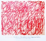 Poster: Twombly, Cy - 2015 - Gagosian Gallery London