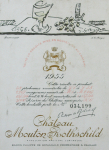 Poster: Braque, Georges - 1955 - Chateau Mouton Rothschild