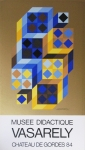 Poster: Vasarely, Victor - 1984 - Musee Didactique Gordes