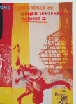 Rauschenberg, Robert - 1996 - Istanbul  (The United Nations Conference on Human Settlements)