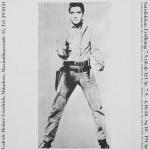 Warhol, Andy - 1968 - Galerie Heiner Friedrich München (Elvis)