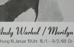 Warhol, Andy - 1968 - Galerie Heiner Friedrich München (Marilyn Monroe)