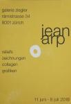 Arp, Hans - 2016/1962 - Galerie Ziegler Zürich