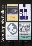 Poster: Catalogue  - 2016 - From Arp to Pollock