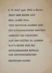Nay, Ernst Wilhelm - 1954 - Galerie Springer