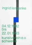 Langanke, Ingrid - 1992 - Kunstverein Schwerte