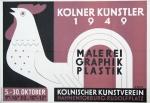 Rhein, Rudi - 1949 - Kölnischer Kunstverein