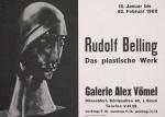Belling, Rudolf - 1962 - Galerie Vömel, Köln