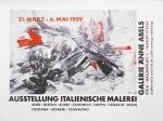 Moreni, Mattia - 1959 - Galerie Änne Abels Köln