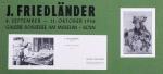 Friedlaender, Johnny - 1958 - Galerie Boisseree Köln