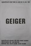 Geiger, Rupprecht - 1969 - spectrum / Galerie für Neue Kunst, Aachen
