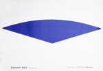 Kelly, Ellsworth - 2002 - Fondation Beyeler (Dark Blue Curve)