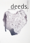 Plakat: Schmid, Helmut - 1990 - deeds. not words
