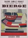 Bierge, Roland - 1958 - Galerie Camille Renault Paris