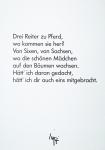 Knoebel, Imi - 1997 - Drei Reiter zu Pferde...
