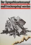 Staeck, Klaus - 1977 - Der Sympathisantensumpf muß trockengelegt werden