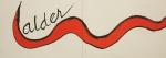 Calder, Alexander - 1976 - Galerie Maeght (Einladung)
