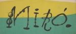 Miró, Joan - 1956 - Galerie Maeght (Einladung)