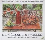 Dunoyer de Ségonzac, André - 1962 - Musée Jenisch, Vevey