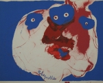 Poster: Rebeyrolle, Paul - 1971 - Galerie Maeght (greetings card)