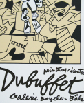 Dubuffet, Jean - 1975 - Galerie Beyeler