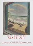 Matisse, Henri - 1958  -  Galerie Bernheim Jeune-Dauberville, Paris