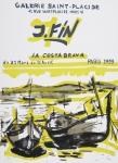 Fin, Jose - 1959 - Galerie Sainte-Placide, Paris