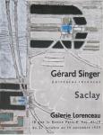 Singer, Gérard - 1959 - Galerie Lorenceau, Paris