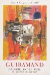 Guiramand, Paul - 1959 - Galerie André Weil, Paris