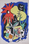 Léger, Fernand - 1948 - school prints (The King of Hearts)