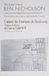 Nicholson, Ben - 1978 - Cabinet des Estampes de Strasbourg