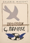 Poster: Braque, Georges - 1959 - Galerie Marght