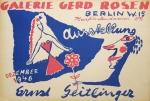 Geitlinger, Ernst - 1947 - Galerie Gerd Rosen