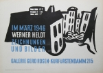 Heldt, Werner - 1946 - Galerie Gerd Rosen