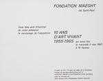 Dubuffet, Jean - 1967 - Fondation Maeght (Einladung)