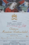 Delvaux, Paul - 1985 - Chateau Mouton Rothschild