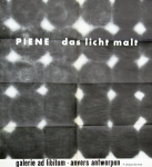 Piene, Otto - 1961 - Galerie ad Libitum Antwerpen